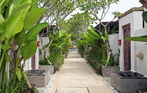 regent vacation club ivory seminyak side walk